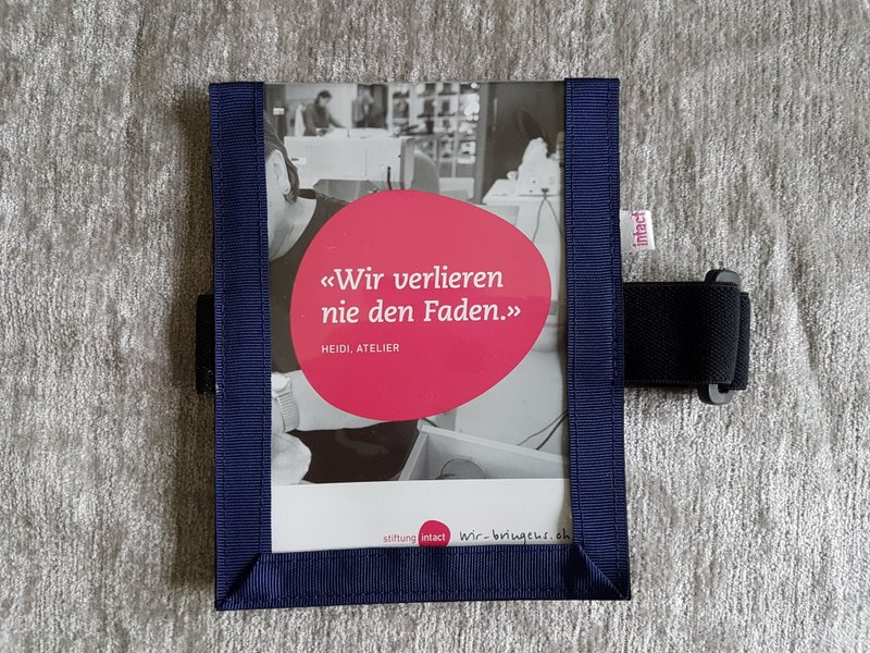 Medicalcard-Hülle dunkelblau