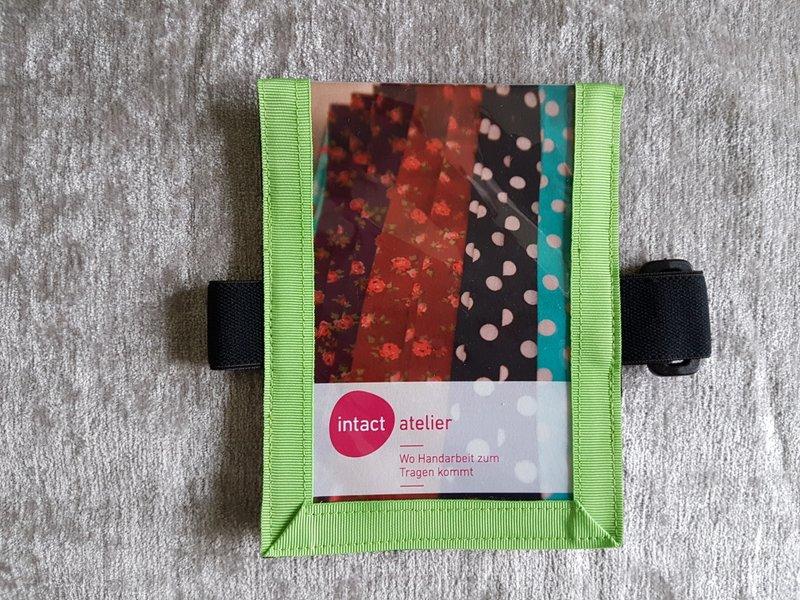 Medicalcard-Hülle hellgrün